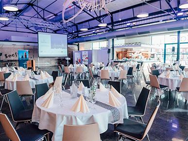 Veranstaltung runde Tische